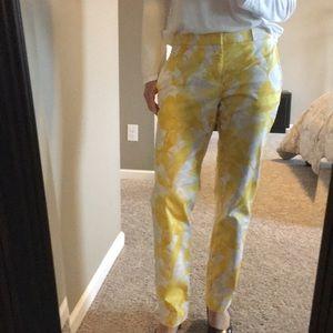 Banana Republic Ryan Fit Floral Pant